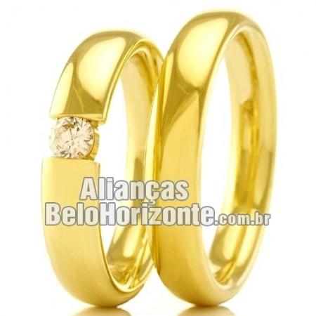 Alianças casamento e noivado  baratas Bh