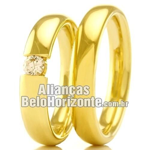 94526b8b4 Alianças casamento e noivado baratas Bh - Alianças Belo Horizonte