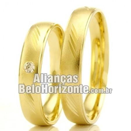 Aliança casamento barata Bh
