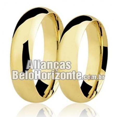 Alianças em ouro 18k  Belo Horizonte