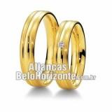 Alianças noivado 18k BH