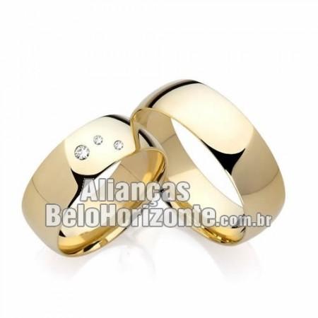 Alianças Belo Horizonte para noivado