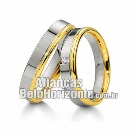 Alianças Bh para noivado e casamento
