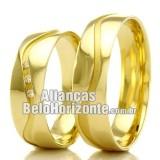 Alianças em ouro 18k BH 5.5mm