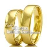 Alianças Belo Horizonte de casamento e noivado