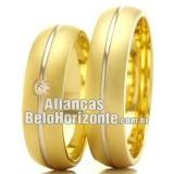 Alianças em ouro 18k...