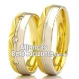 Alianças Bh em Ouro...